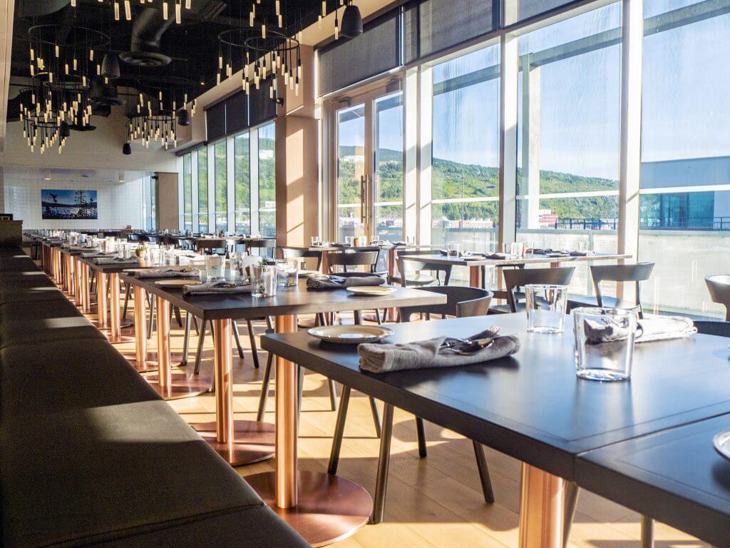 Terre Restaurant view
