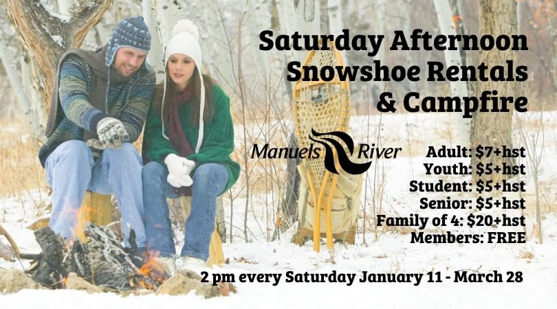 Saturday Afternoon Snowshoe & Campfire
